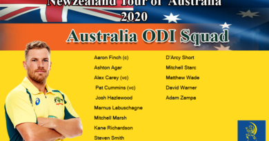 New Zealand tour of Australia 2020-Australia Squad