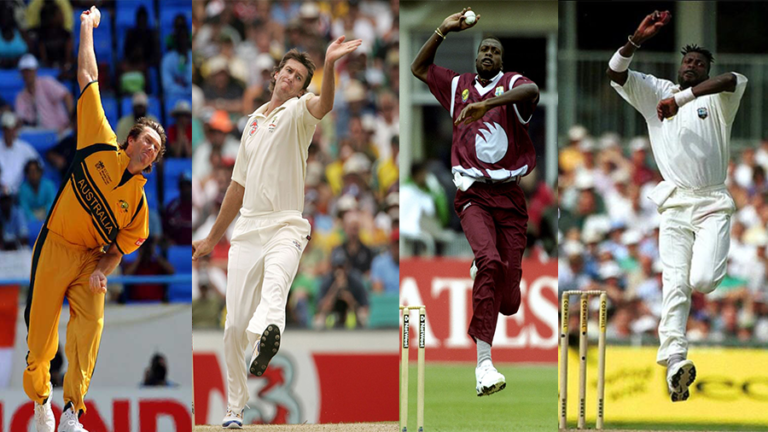 Fast Bowling: Bowling actions in Cricket